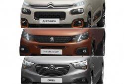 Desvelado el diseño de las nuevas Citroën Berlingo, Peugeot Partner y Opel Combo