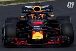 Ricciardo lidera el primer día en Barcelona, Alonso y Sainz a medio gas