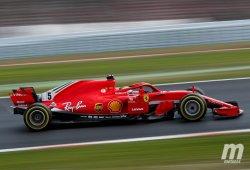 Vettel se adelanta a la nieve con el mejor tiempo de la semana