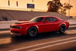 ¿Cuál es la velocidad máxima del Dodge Challenger SRT Demon?