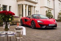 El McLaren 570S Spider más especial para los románticos y San Valentín