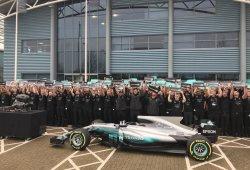 Mercedes gana el Laureus al 'Mejor Equipo del Mundo'