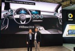Mercedes llega al Mobile World Congres 2018 con importantes novedades
