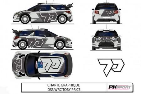 Toby Price probará un Citroën DS3 WRC de PH Sport