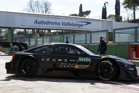 Vallelunga acoge el primer test conjunto del DTM 2018