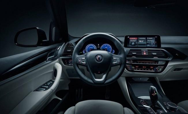 Alpina XD3 2018 - interior