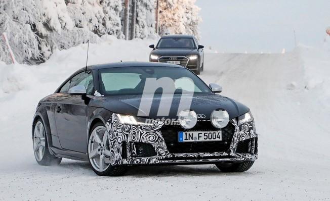 Audi TTS 2019 - foto espía