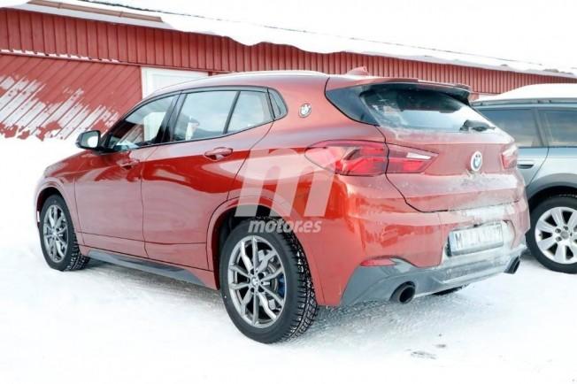 BMW X2 M35i xDrive - foto espía posterior