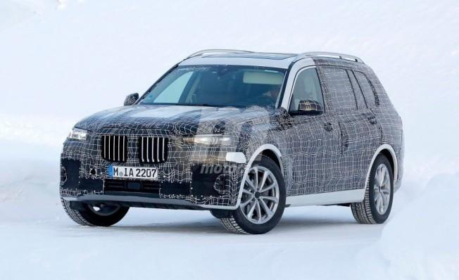 BMW X7 2019 - foto espía