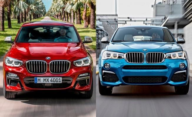 BMW X4 G02 vs X4 F26