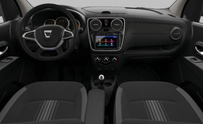 Dacia Lodgy SL Nómada - interior