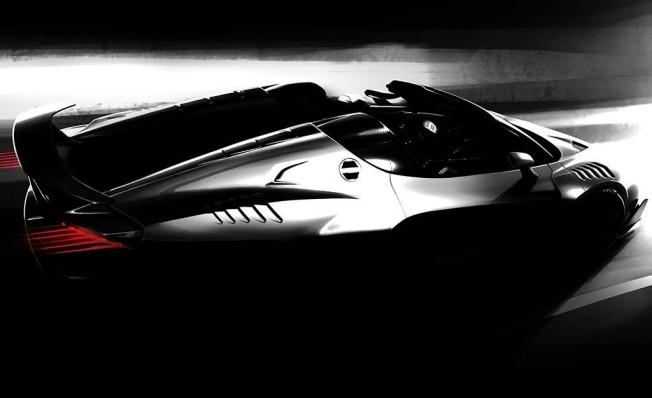 Italdesign Zerouno Roadster - adelanto
