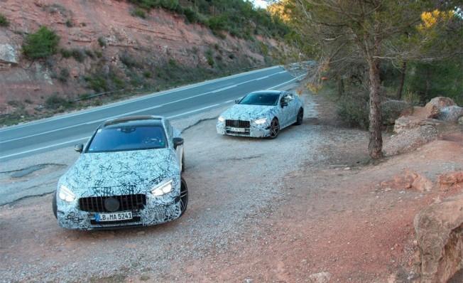 Mercedes-AMG GT4 - foto espía