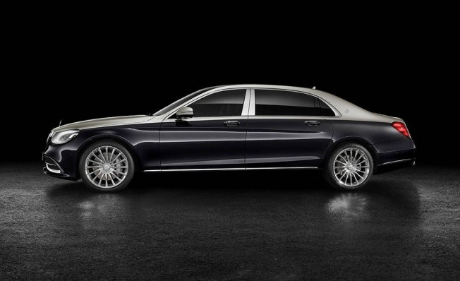 Mercedes-Maybach Clase S 2018 - lateral