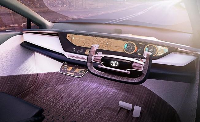TATA 45X Concept - interior
