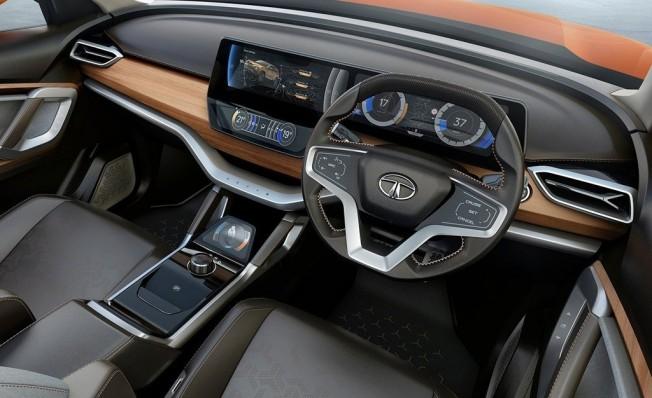TATA H5X Concept - interior