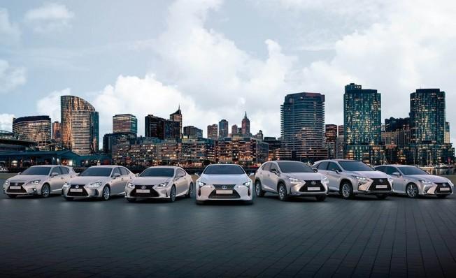 Gama híbrida de Lexus