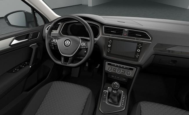 Volkswagen Tiguan Tech&Go - interior
