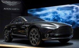 Aston Martin registra el nombre de Varekai para su primer SUV basado en el DBX Concept
