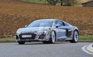 El nuevo Audi R8 continúa sus pruebas ya con el diseño de producción