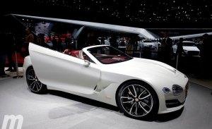 Bentley también estudia una berlina deportiva completamente eléctrica para 2025