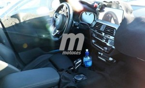 Un vistazo al interior del BMW X3 M 2018 mientras culmina su desarrollo
