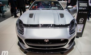 El Jaguar F-TYPE SVR más agresivo con el Pack Graphic, debuta en el Salón del Automóvil de Ginebra