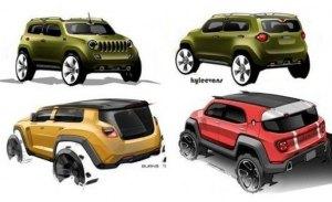El nuevo crossover subcompacto de Jeep será anunciado en junio