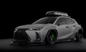 Imaginando un Lexus UX más radical y extremo
