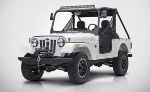 El Mahindra Roxor es un clon del Jeep original para los Estados Unidos
