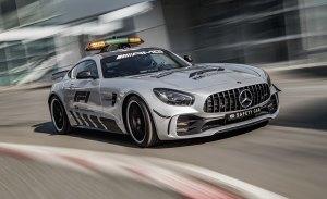 El Mercedes-AMG GT R será el coche de seguridad en la Fórmula 1 en 2018
