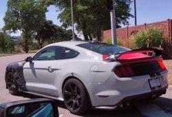 El sugerente bramido del V8 del nuevo Mustang Shelby GT500 en vídeo