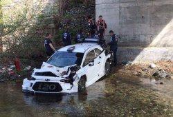 Fuerte accidente de Neuville en los test previos a Córcega