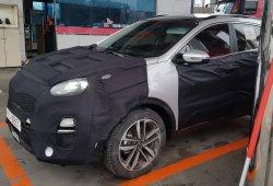 Los detalles del nuevo KIA Sportage facelift durante su desarrollo