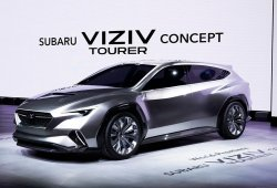 Subaru VIZIV Tourer Concept: la marca adelanta sus futuros turismos familiares