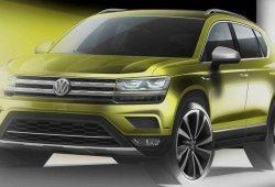 Volkswagen adelanta el primer boceto del nuevo Tarek SUV