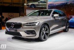 Os mostramos el nuevo Volvo V60 desde el Salón de Ginebra 2018