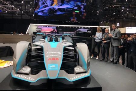La Fórmula E presenta su 'Gen2' en el Salón de Ginebra