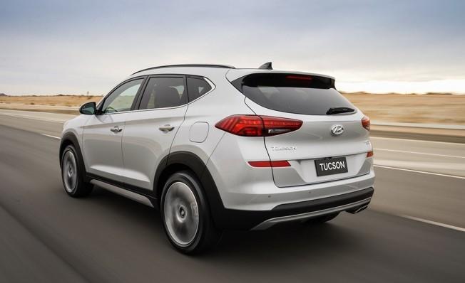 Hyundai Tucson 2018 - posterior