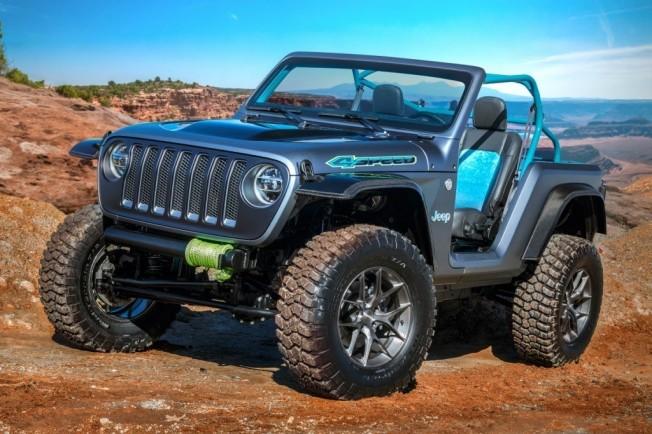jeep y mopar presentan siete conceptos especiales sobre el nuevo