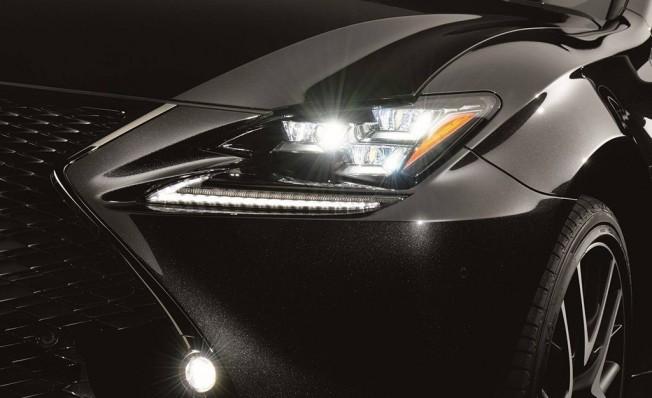 Lexus RC 300h F Sport Black Edition - frontal