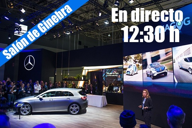 Daimler en el Salón de Ginebra 2018