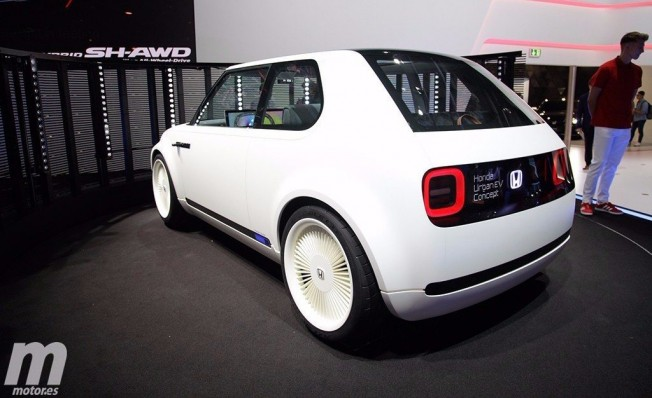 Honda Urban EV Concept - posterior