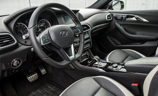 Infiniti QX30 2018 - interior