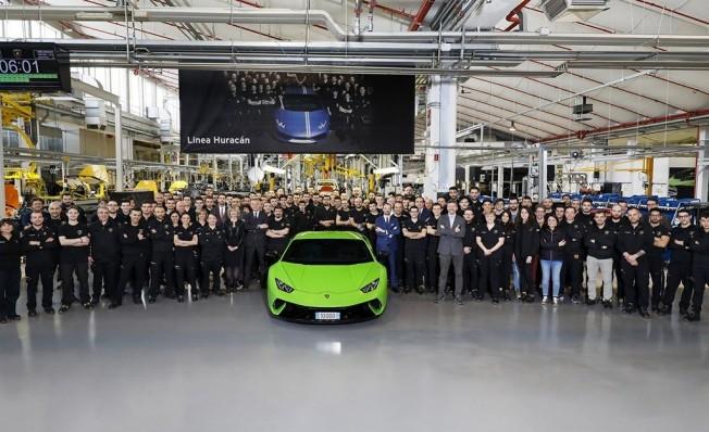 Lamborghini Huracán - unidad 10.000