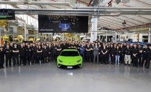 Lamborghini produce la unidad 10.000 del Huracán, todo un éxito de ventas