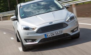 Alemania - Febrero 2018: El Ford Focus obtiene su mejor resultado en siete años