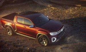 Volkswagen Atlas Tanoak Concept pick-up: de momento solo conceptual