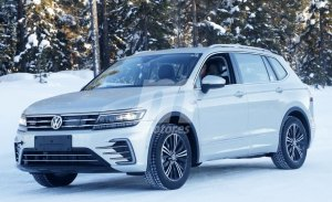 Volkswagen ya prueba la versión híbrida enchufable GTE del Tiguan L para el mercado chino