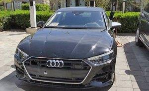 Cazada, por primera vez, la versión eléctrica del Audi A7 Sportback e-tron
